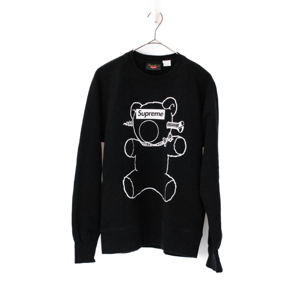Bear Box Logo シュプリーム×アンダーカバー ベアーボックスロゴ クルーネックスウェットシャツ