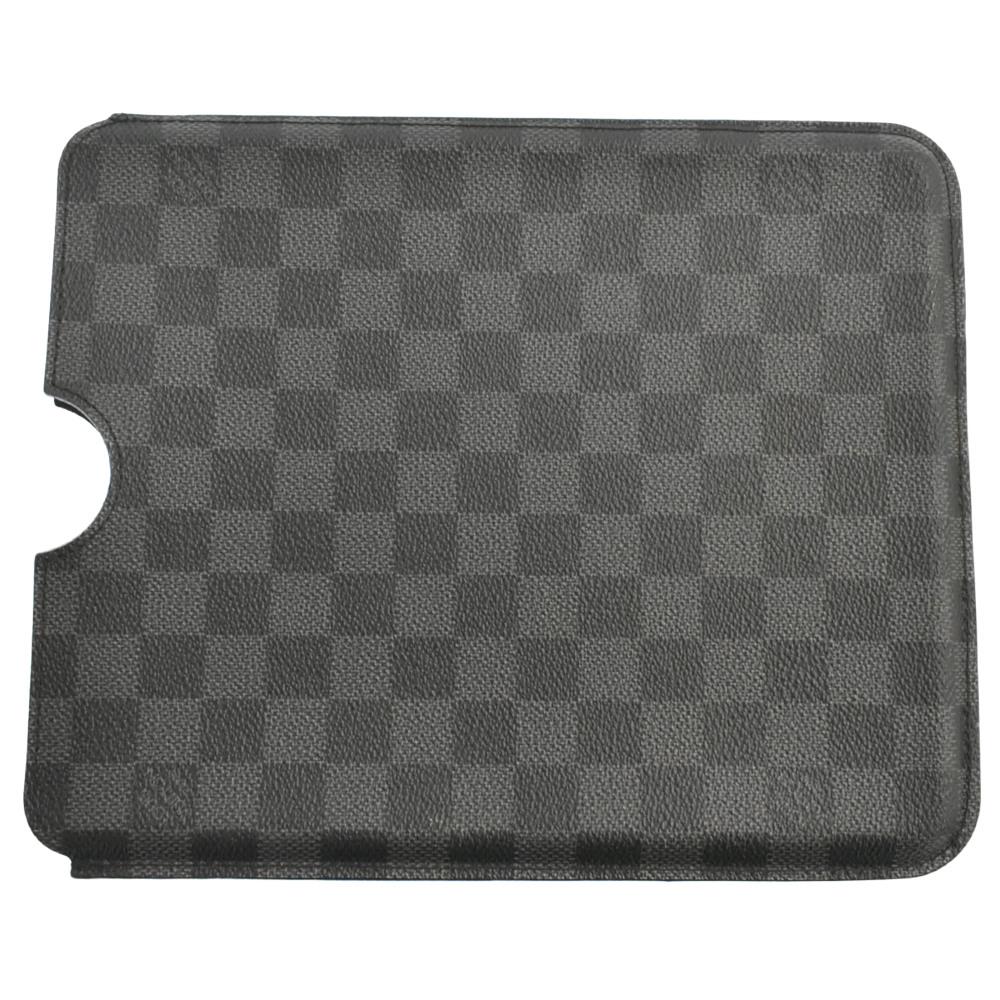 ダミエ グラフィット iPad2 ハードケース アイパッドケース タブレットケース
