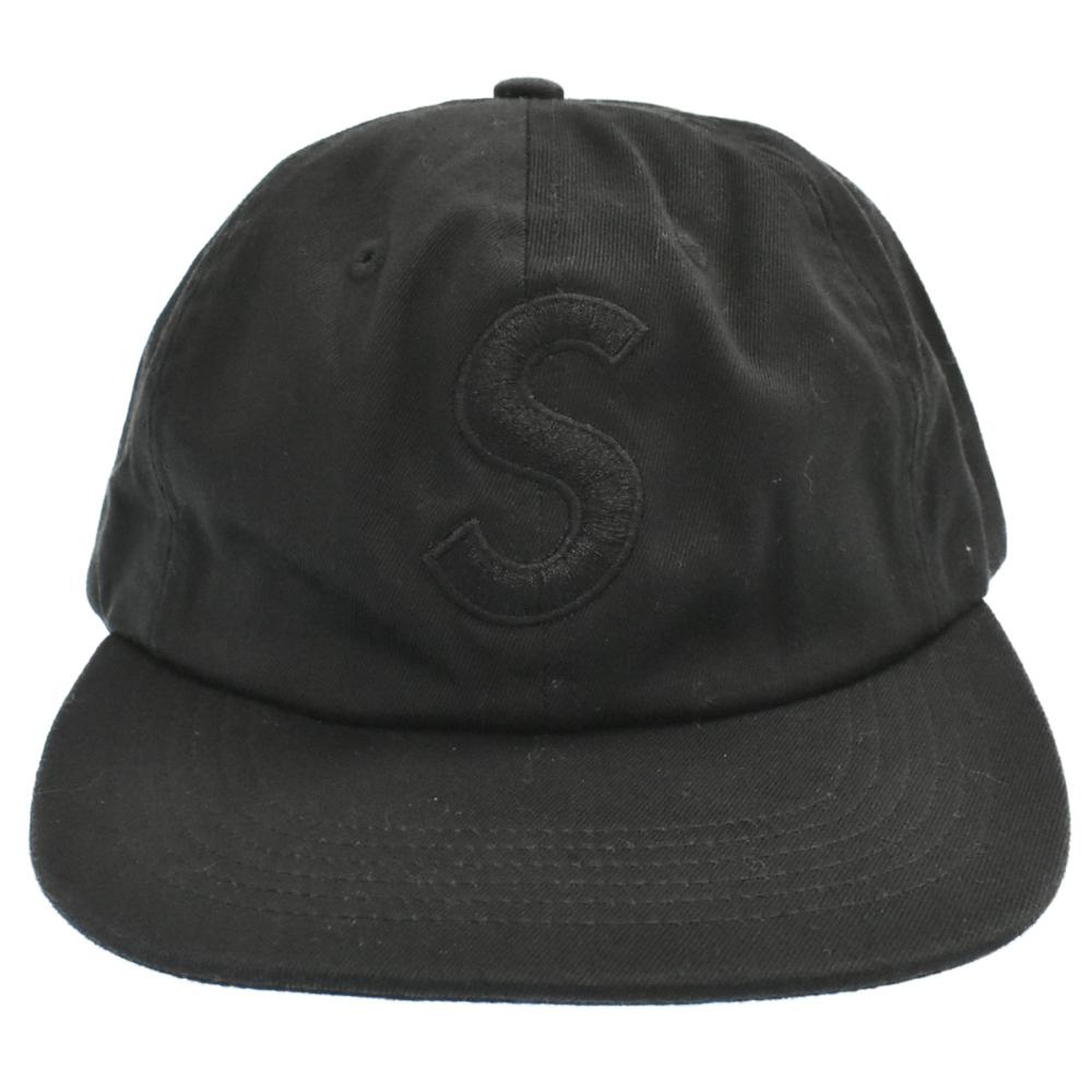 S Logo 6-Panel Cap Sロゴキャンプキャップ 帽子