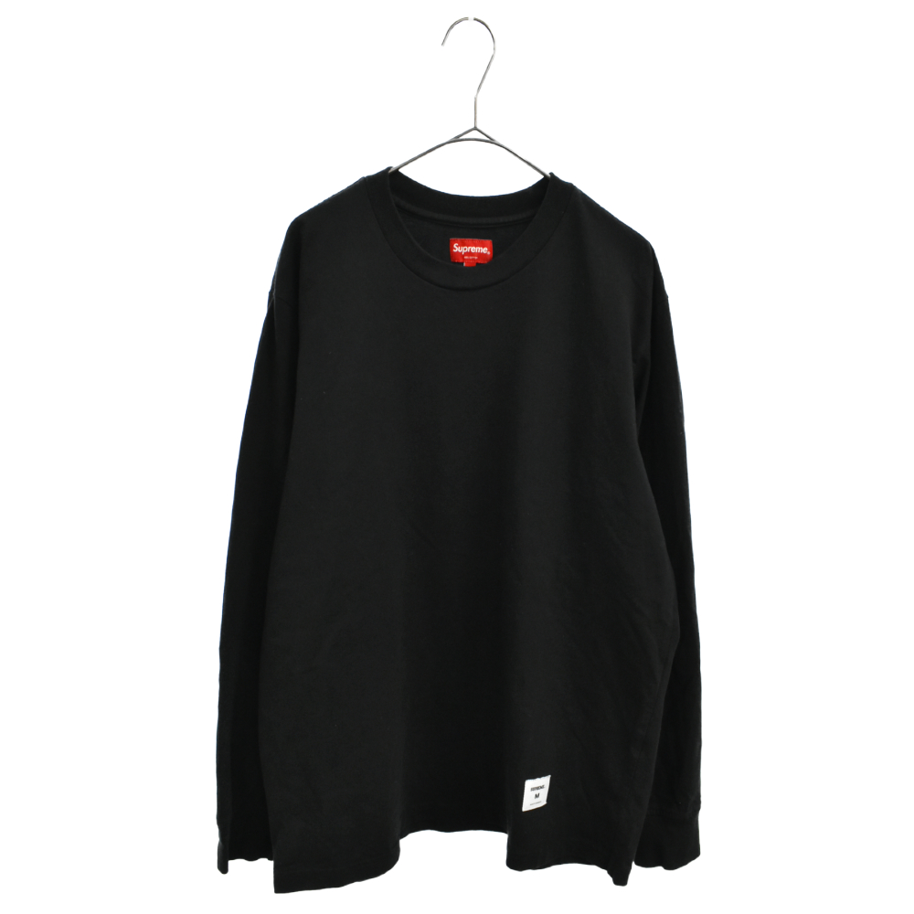 Trademark L/S Top トレードマークプリント ロングスリーブTシャツ ロンT