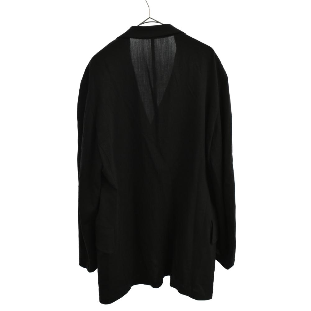 胸ポケットステッチレーヨン4Bシングルテーラードジャケット