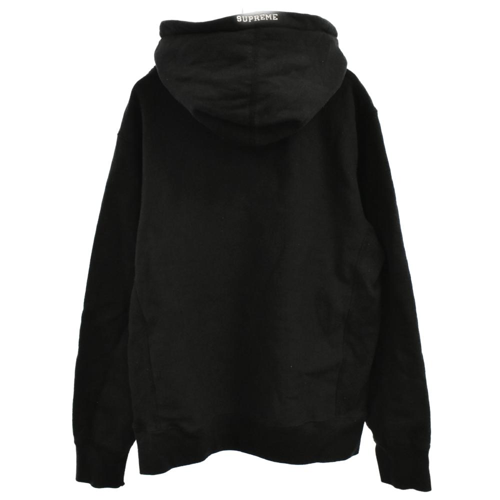 S Logo Hooded Sweatshirt Sロゴプルオーバーパーカーブラック