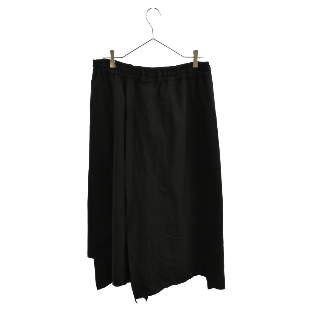 ウールギャバジンパンツスカート
