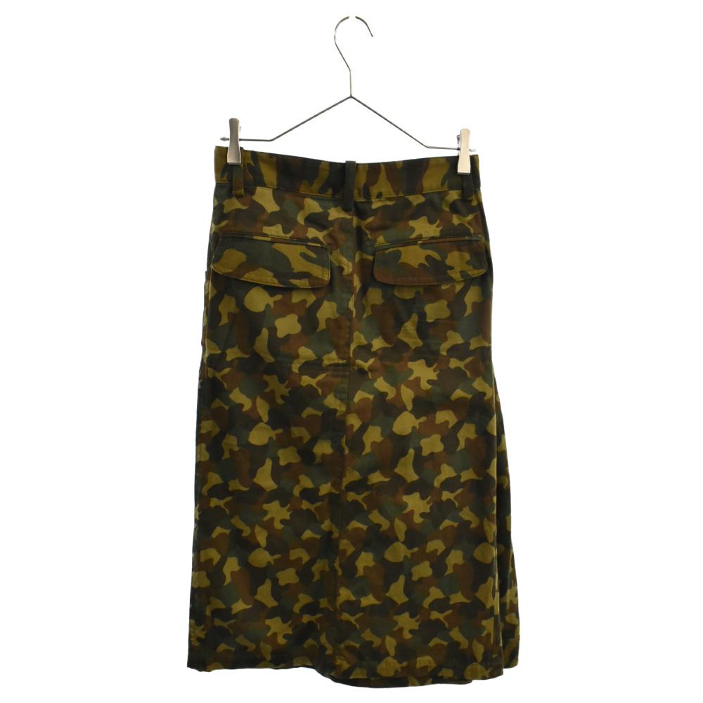 カモ柄スカートパンツ