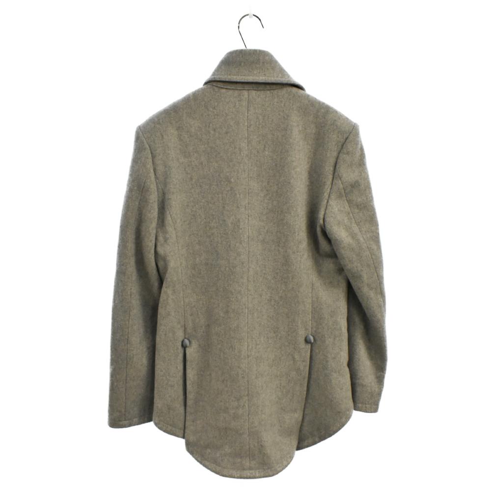 燕尾デザインメルトンコート ジャケット