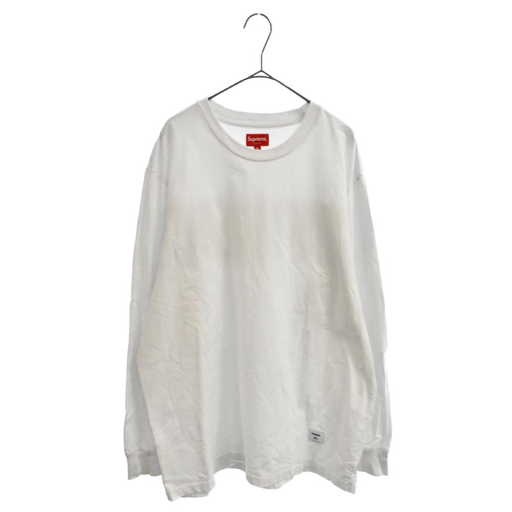 Trademark L/S Top バックロゴトレードマーク長袖Tシャツ