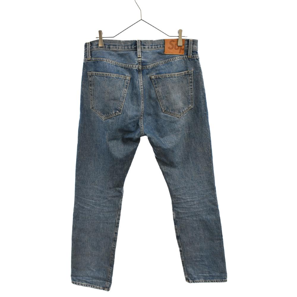 Stone Washed Slim Jean デニムパンツ