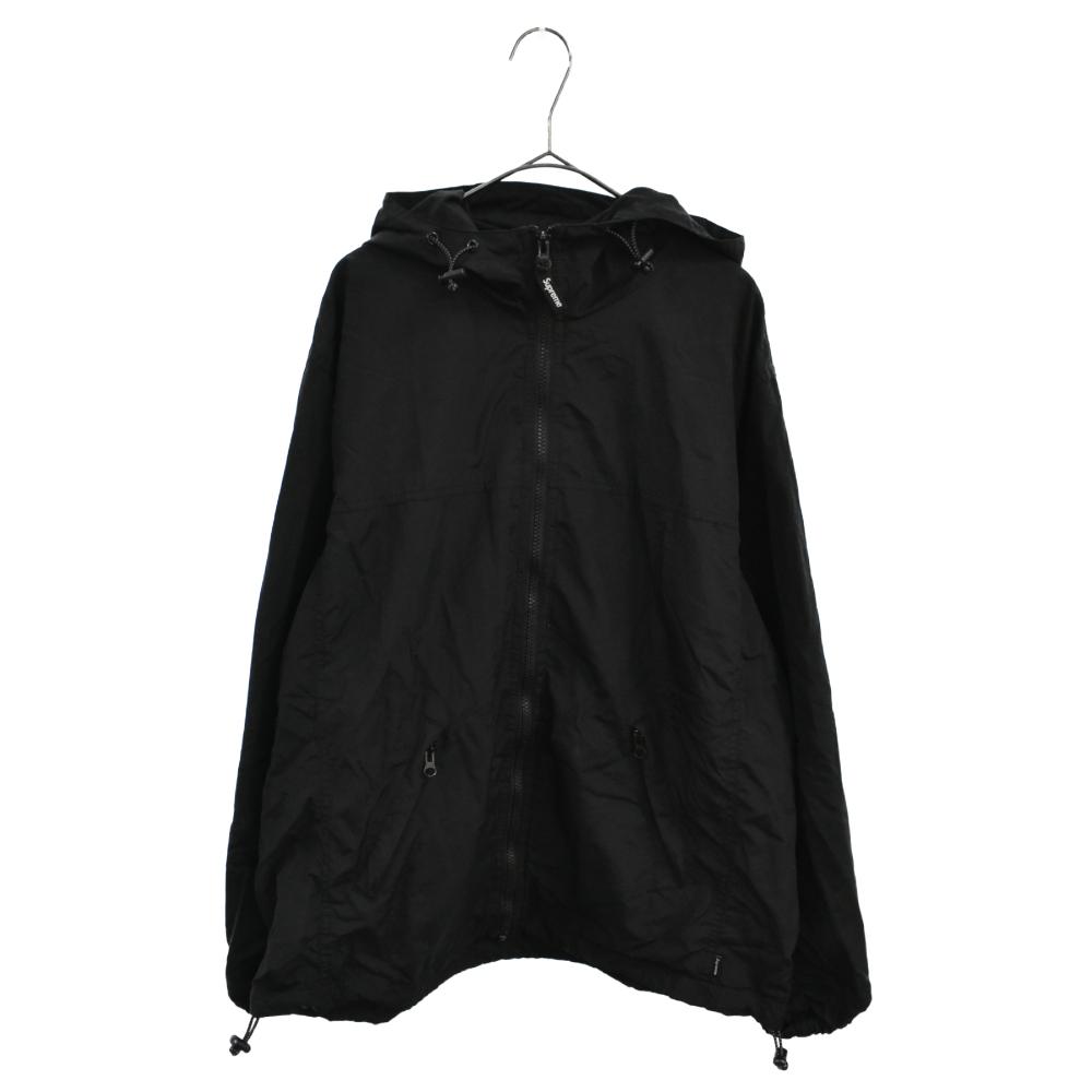 2-Tone Zip Up Jacket リフレクティブロゴナイロンジップアップジャケット
