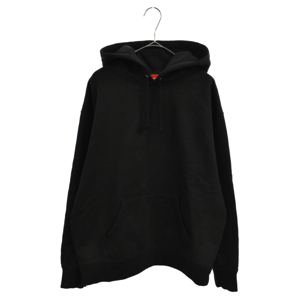 Rhinestone Script Hooded Sweatshirt ラインストーンスクリプトロゴパーカー