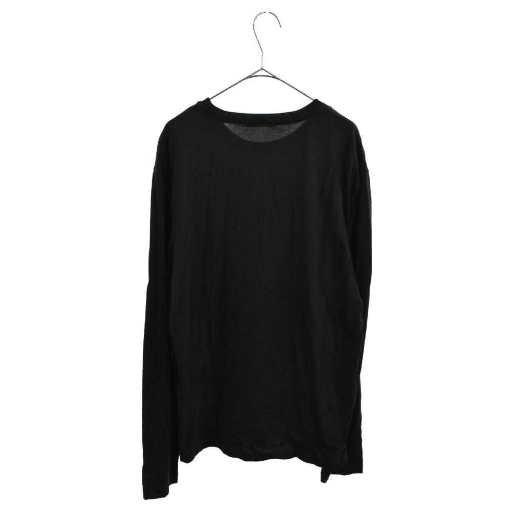 メデューサロゴプリント長袖Tシャツ ロンT
