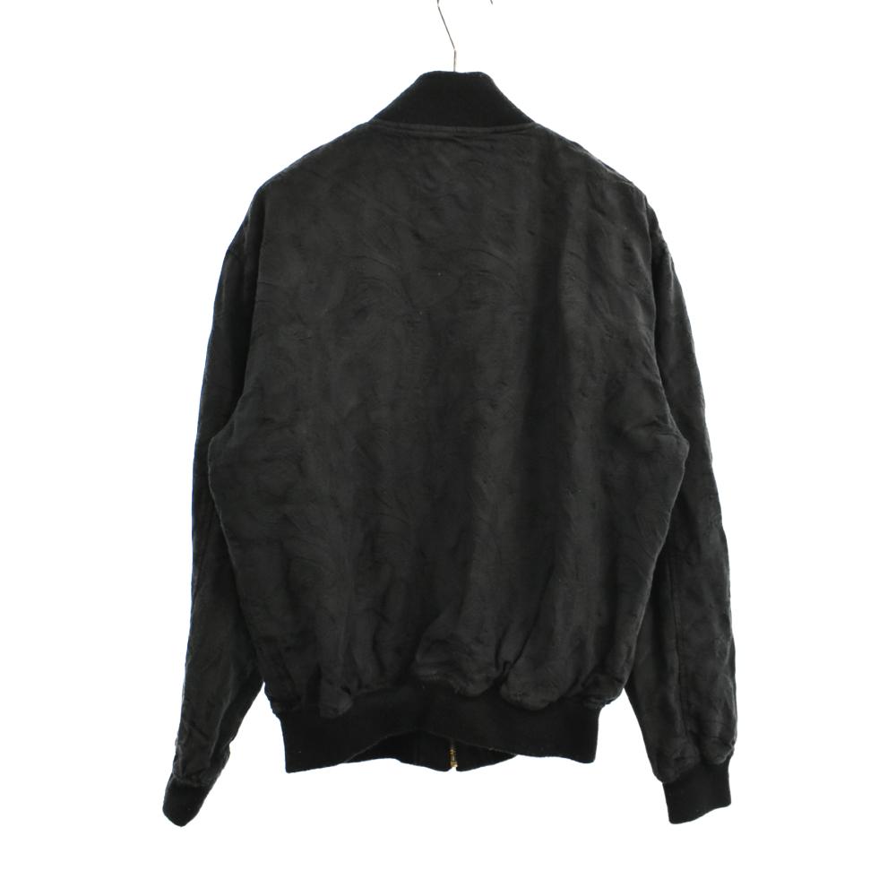 ジャガード総柄ジップアップジャケット ブルゾン