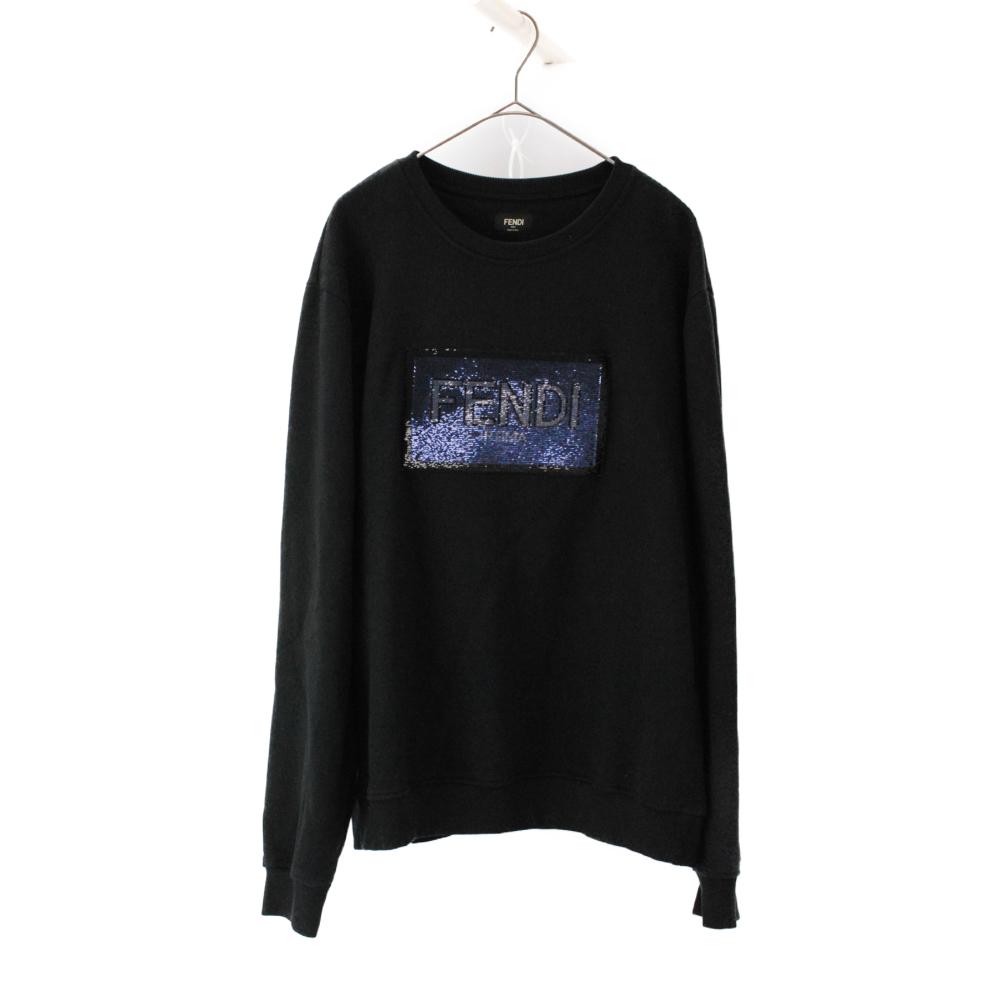 Patch Detailed Sweatshirt パッチデティールスウェットシャツ クルーネック トレーナー