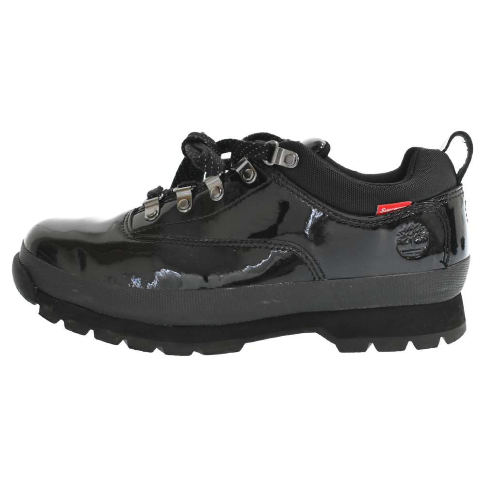 ×Timberland Patent Leather Euro Hiker Low パテントレザーユーロハイカーローカットスニーカー