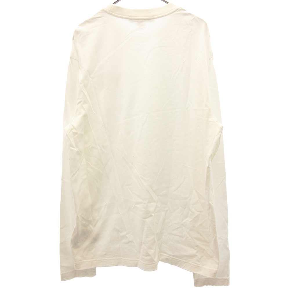 ラバーロゴ長袖カットソーTシャツ