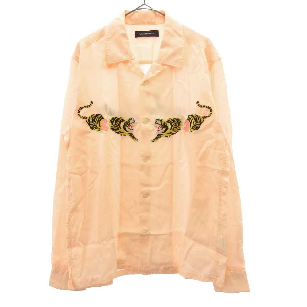 トラ刺繍テンセル長袖シャツ タイガー