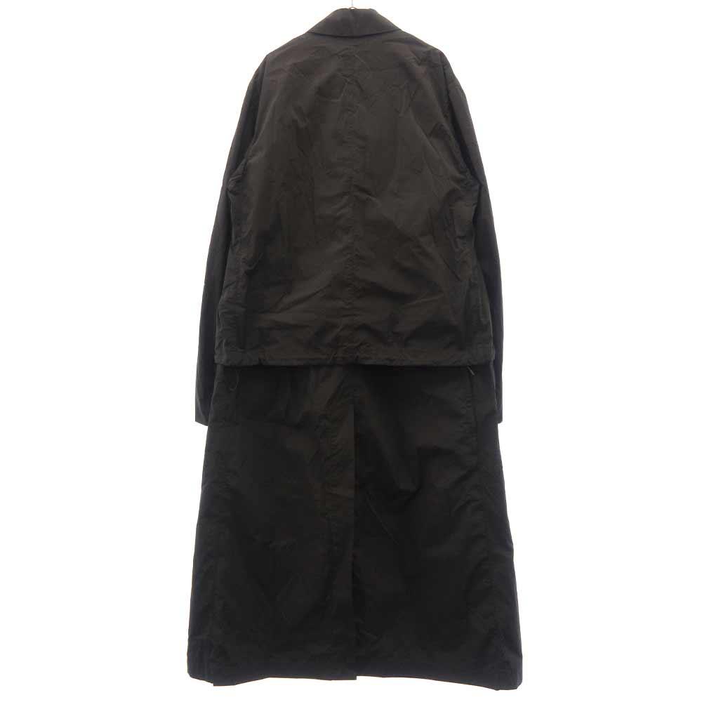 M CLASSIC CROSS-DYED LONG COAT クラシッククロスダイドロングコート オーバーサイズロングジャケット
