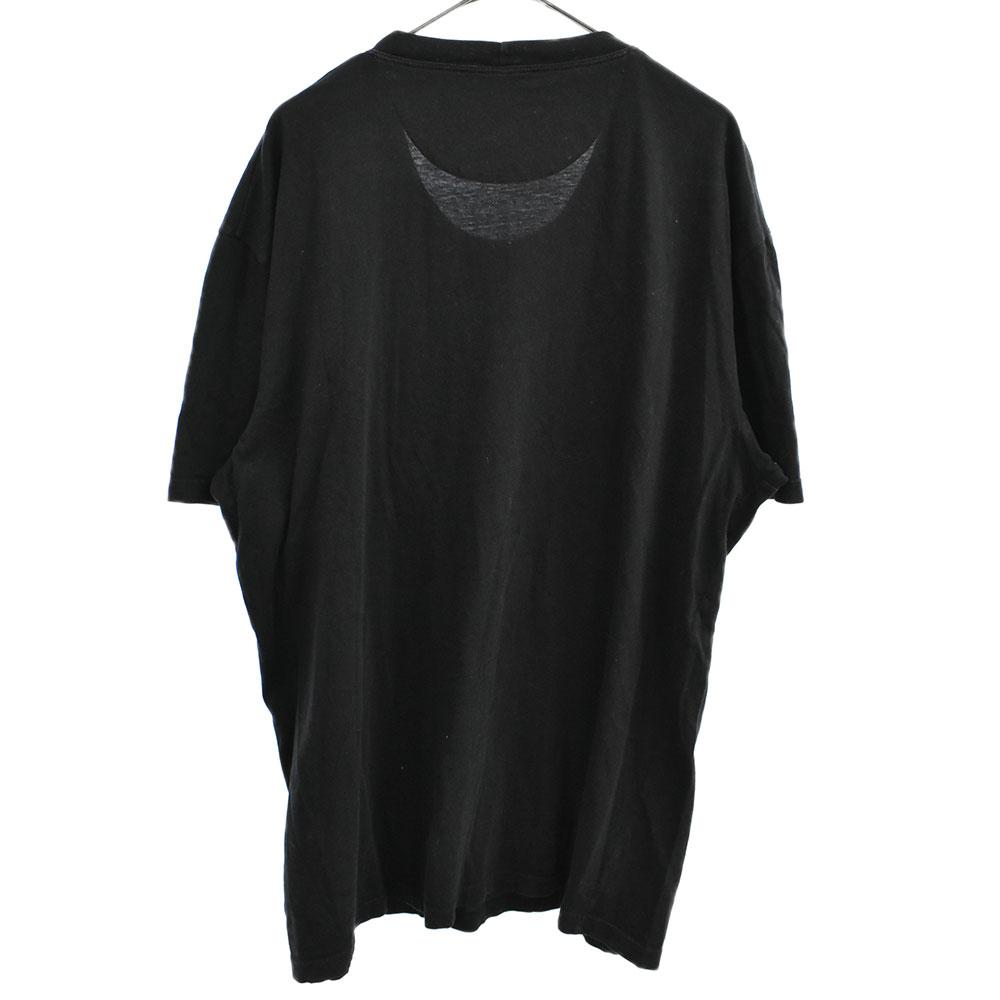 ロックスタッズロゴパッチ半袖Tシャツ