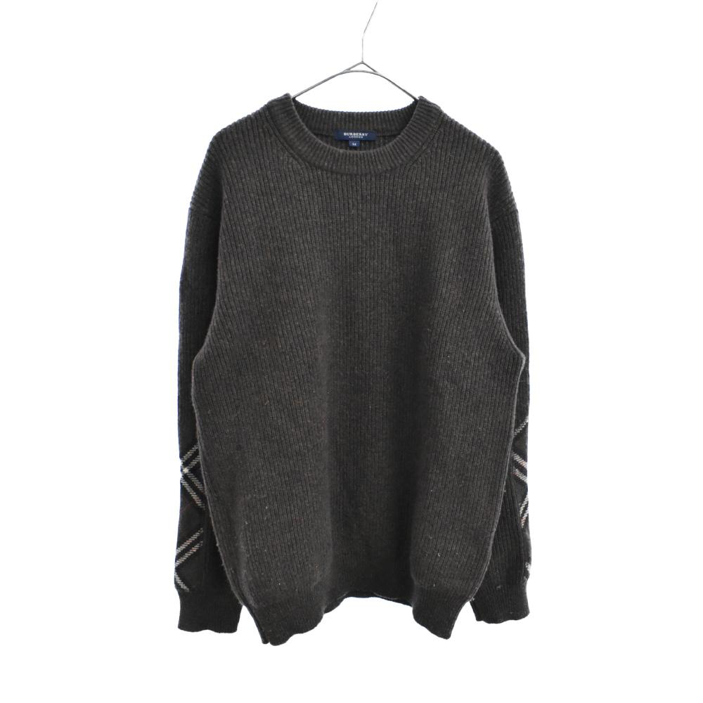 クルーネックウールニット セーター