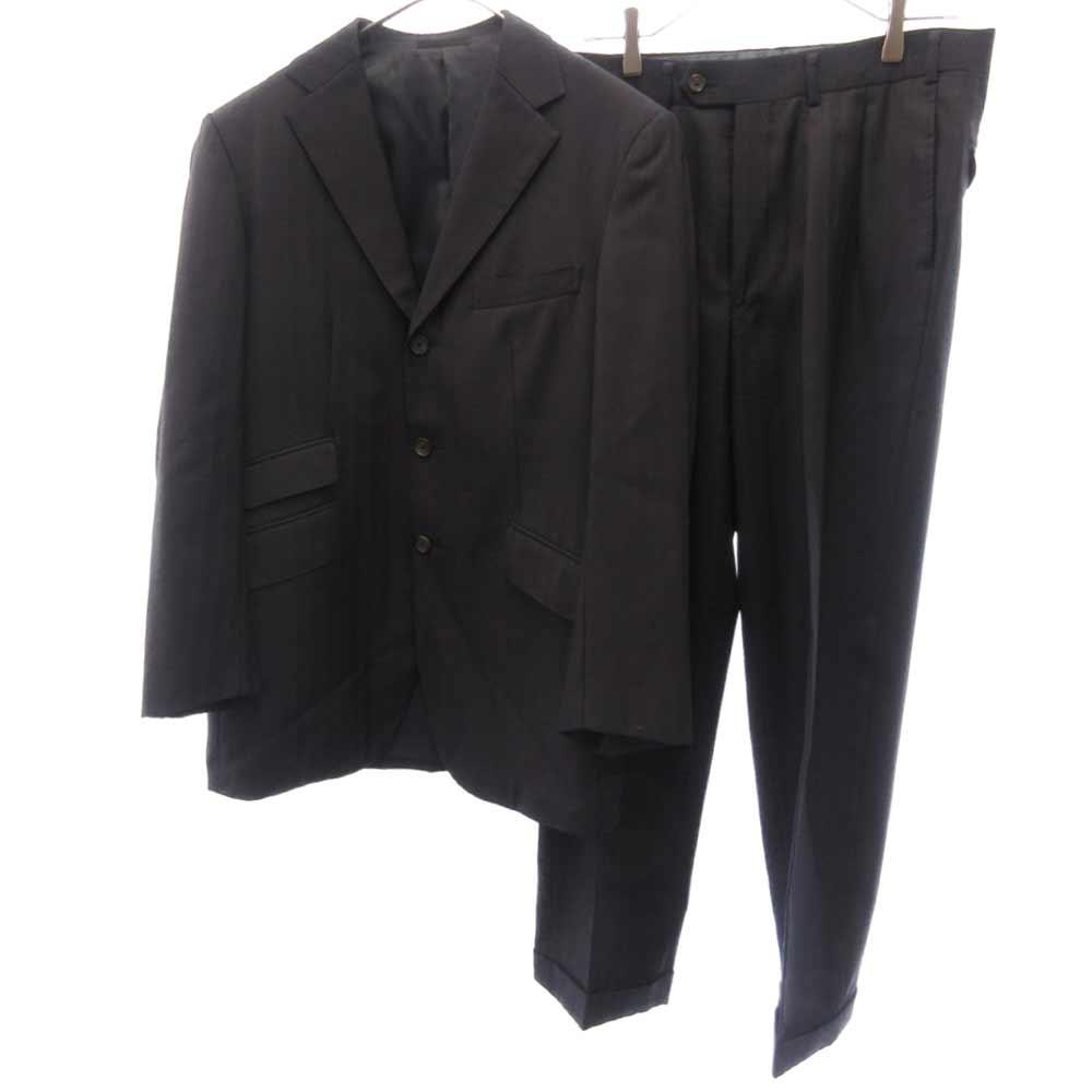 ストライプ柄2Bテーラードジャケット スラックスパンツ セットアップ スーツ
