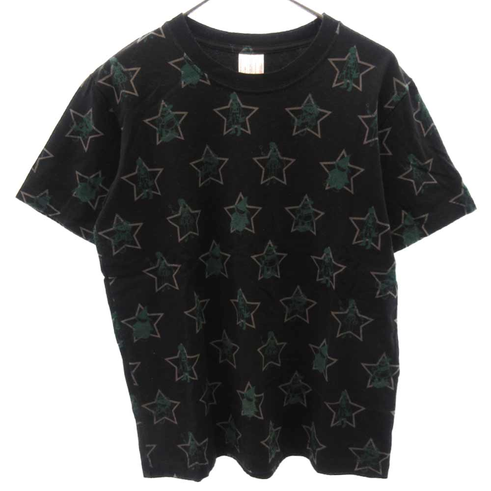 WITCH'S CELL DIVISION/魔女期 スタープリント半袖Tシャツ