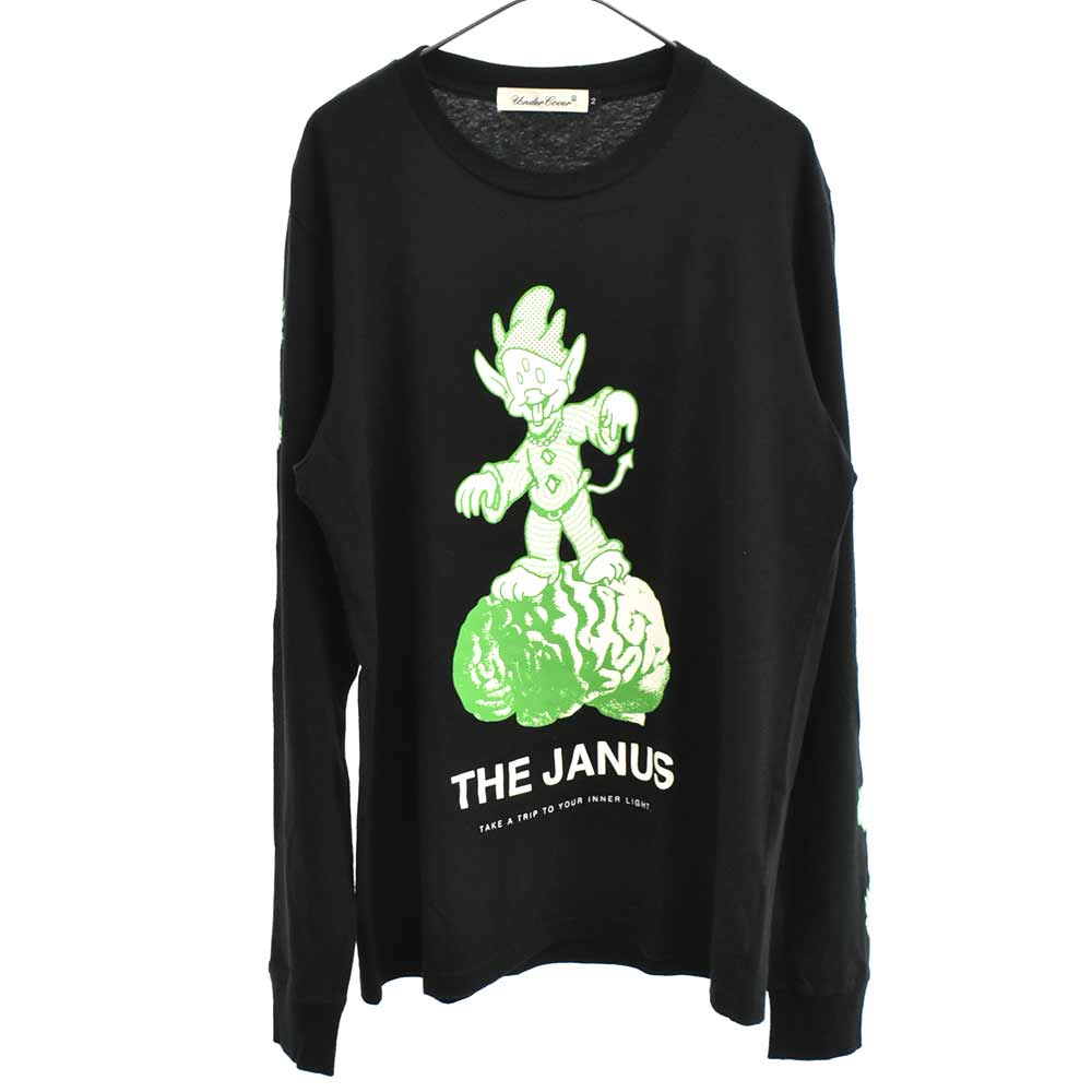THE JANUS L/Sプリントカットソー 長袖Tシャツ