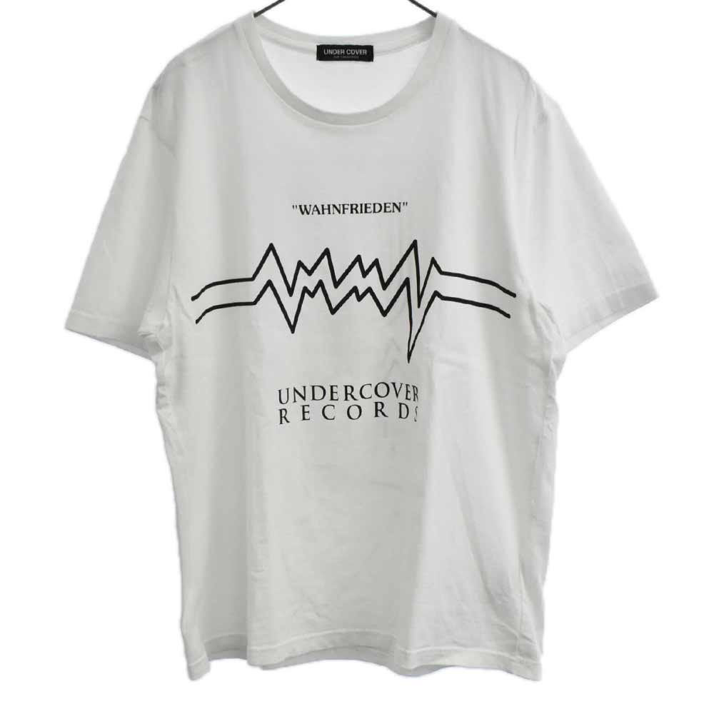 TEE RECORDS WAHNFRIENDEN バックUロゴプリント半袖Tシャツ