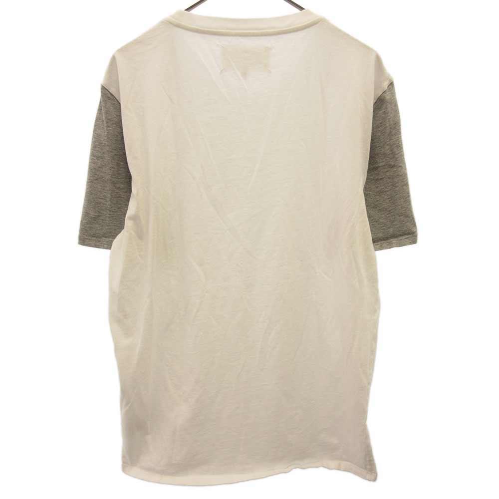 アームバイカラー半袖Tシャツ