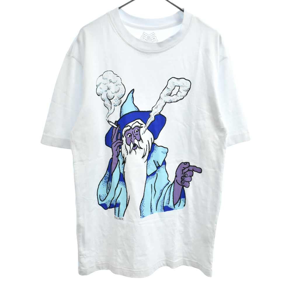 イラストプリント半袖Tシャツ