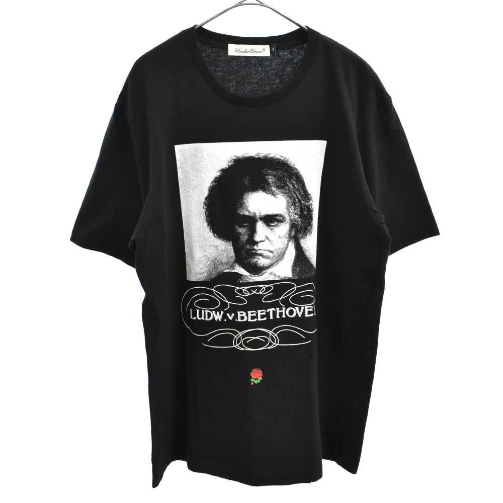 TEE BEETHOVEN ベートーヴェンフォトプリント半袖Tシャツ