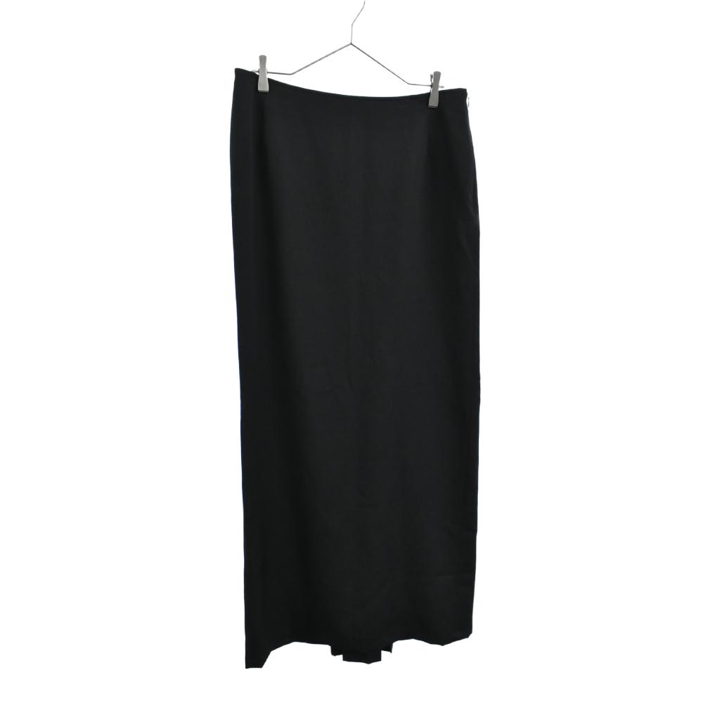 ウールギャバロングスカート