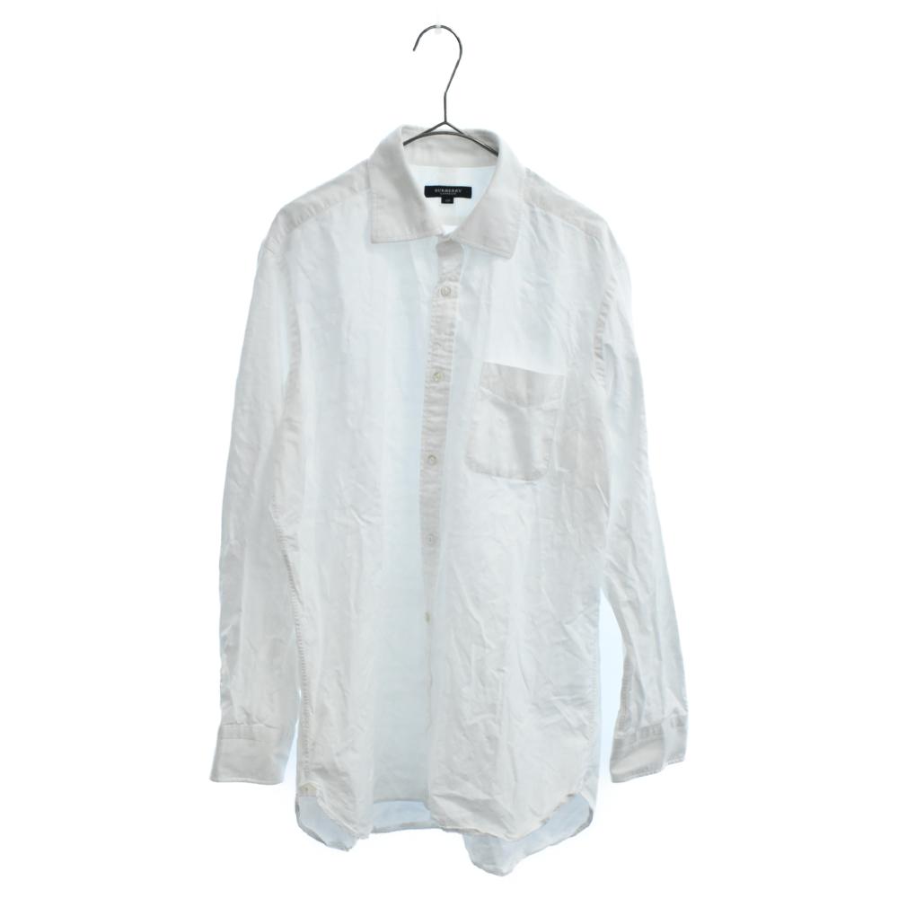 プレーンロングスリーブドレスシャツ