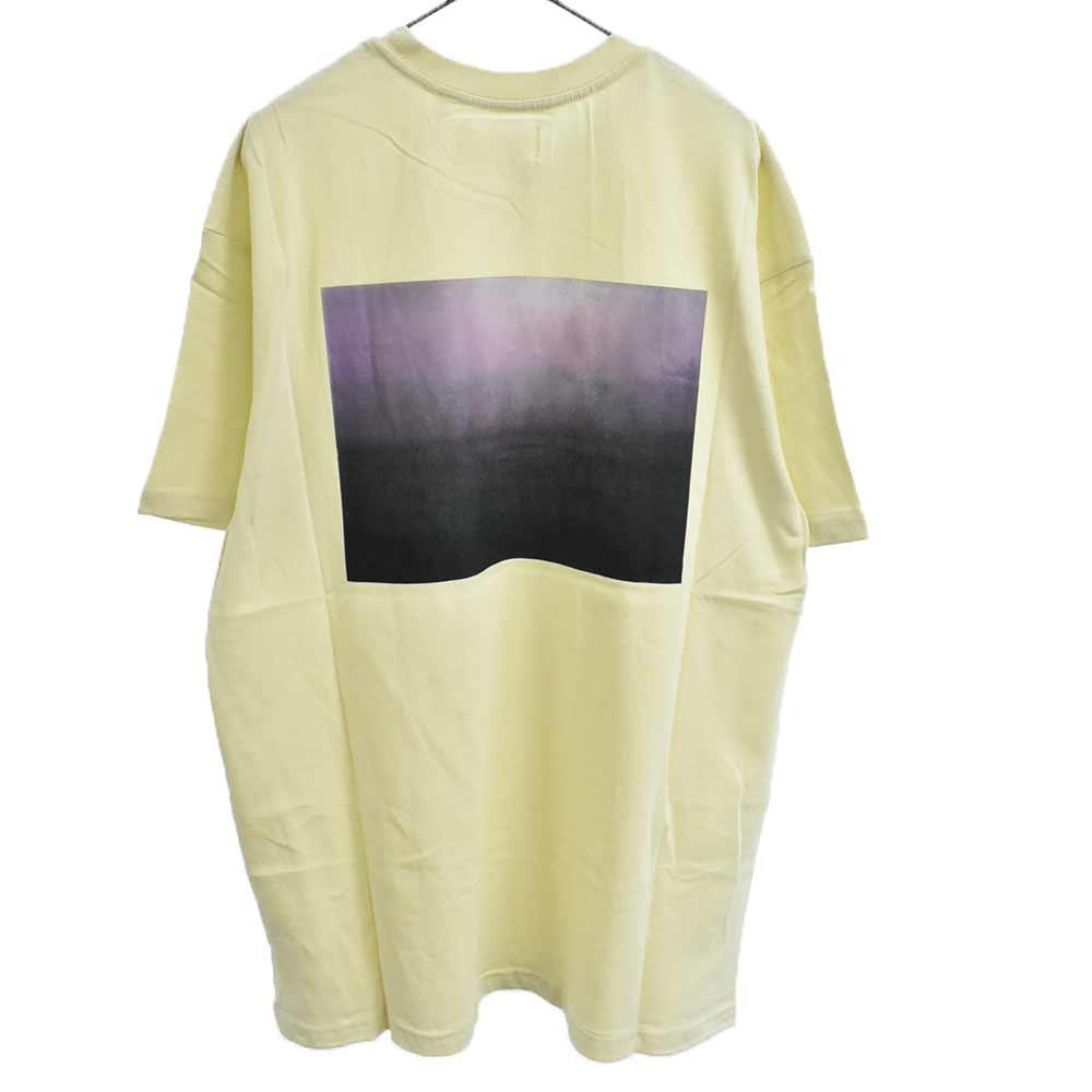 Photo Boxy Graphic T-SHIRT バック フォト半袖 Tシャツ クリーム
