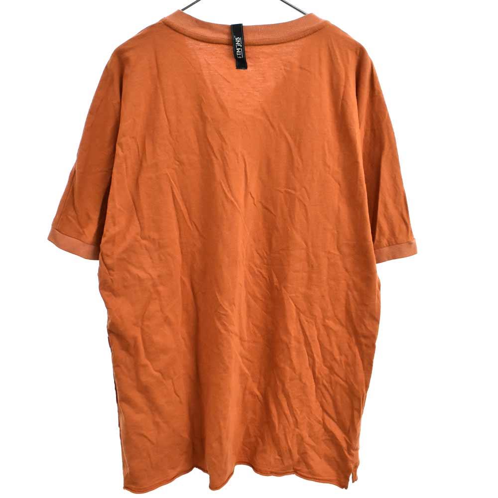 ポケット付きVネック半袖Tシャツ