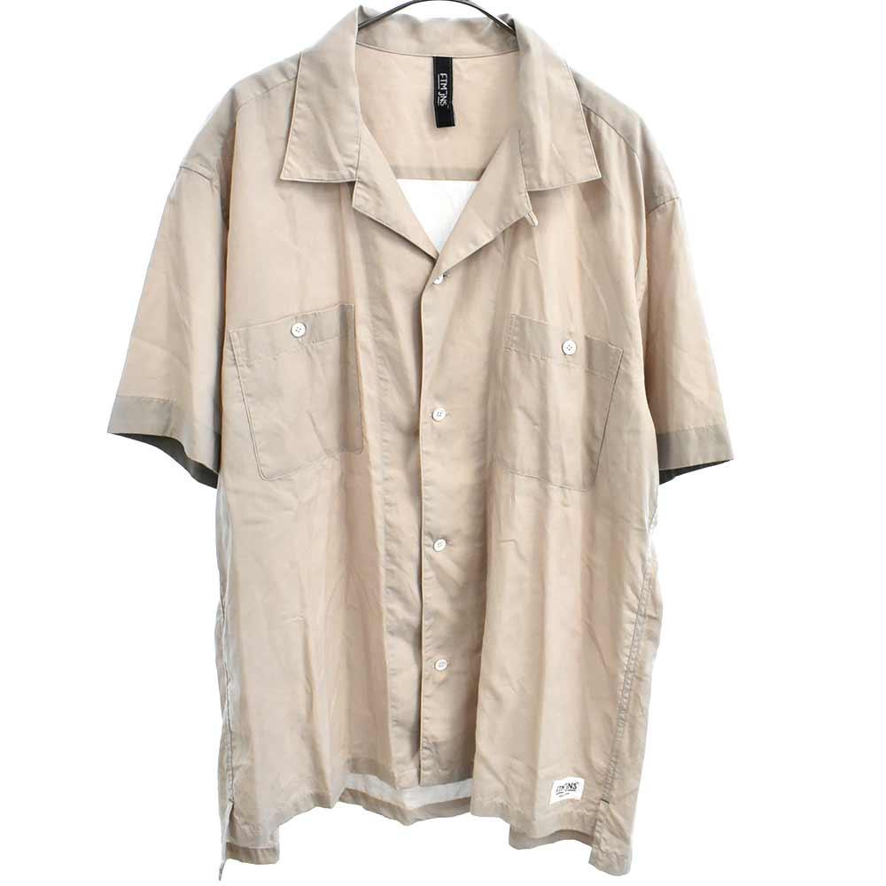 ベーシック開襟半袖シャツ