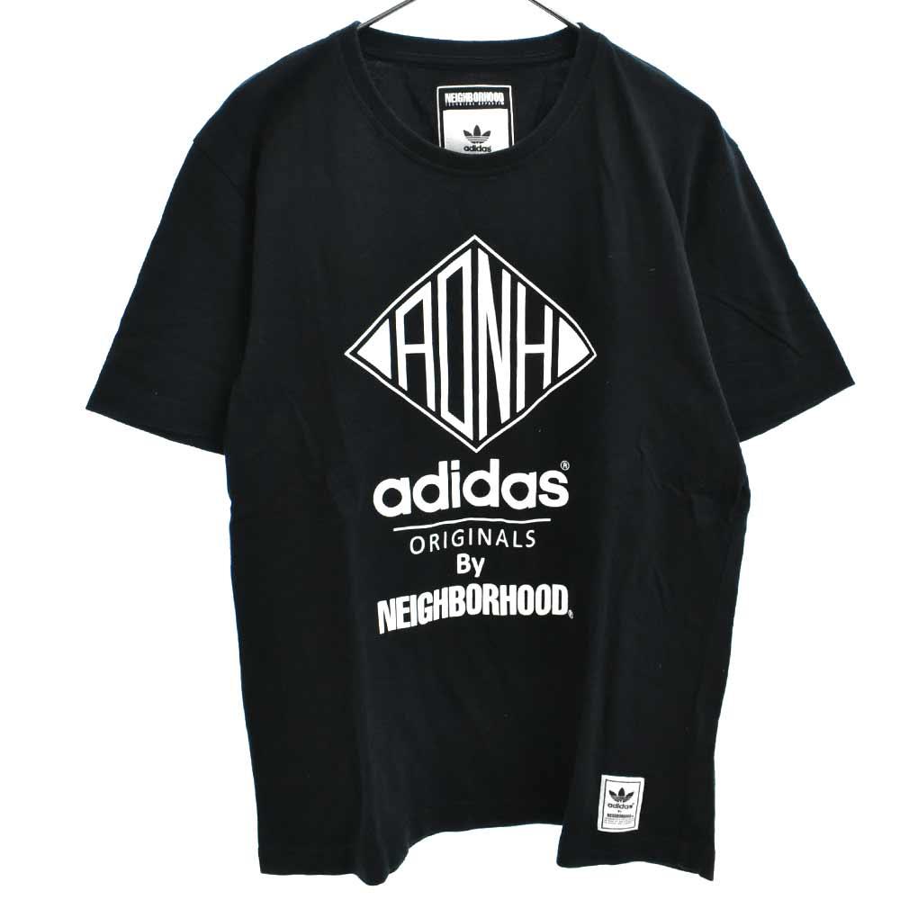 ×adhidas NH SSL Tee ロゴプリント半袖Tシャツ S15233 アディダス