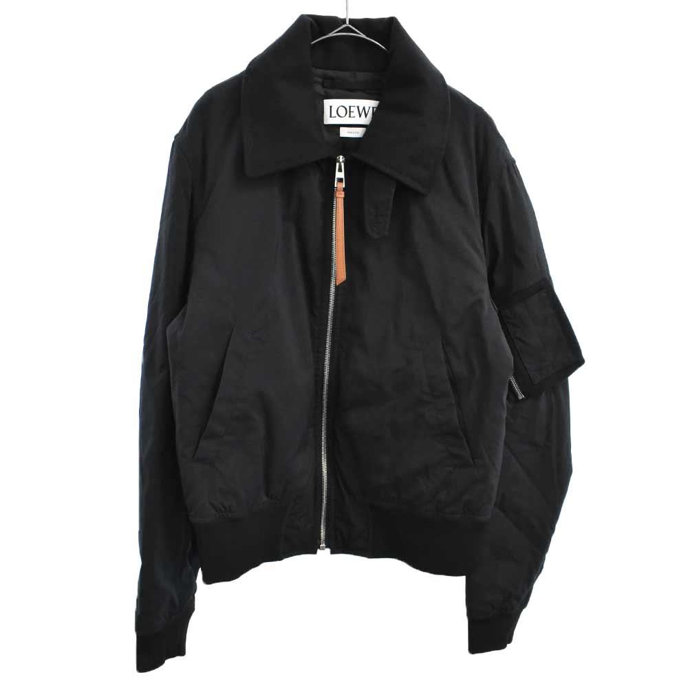 Dog Bomber jacket ドッグプリントボンバージャケット