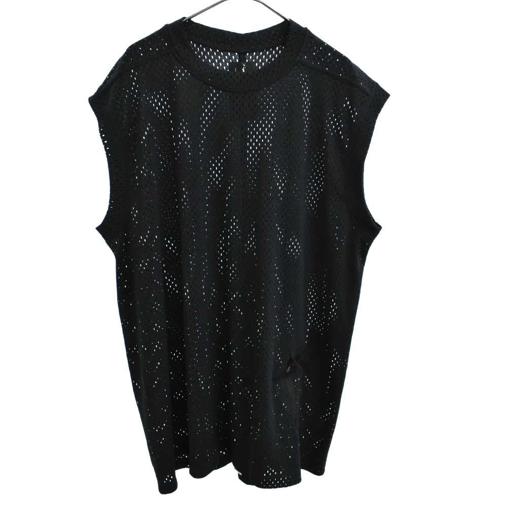 ×Champion SL TEE MESH ロゴ刺繍メッシュノースリーブカットソー Tシャツ チャンピオン