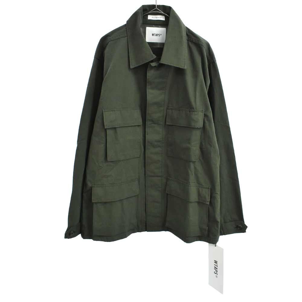 WMILL-LS リップストップミリタリーシャツジャケット