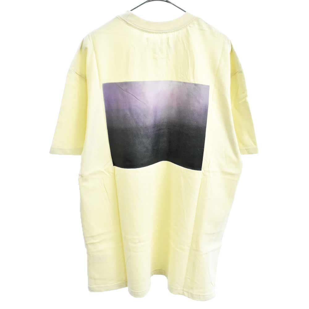 Photo Boxy Graphic T-SHIRT バック フォト Tシャツ クリーム