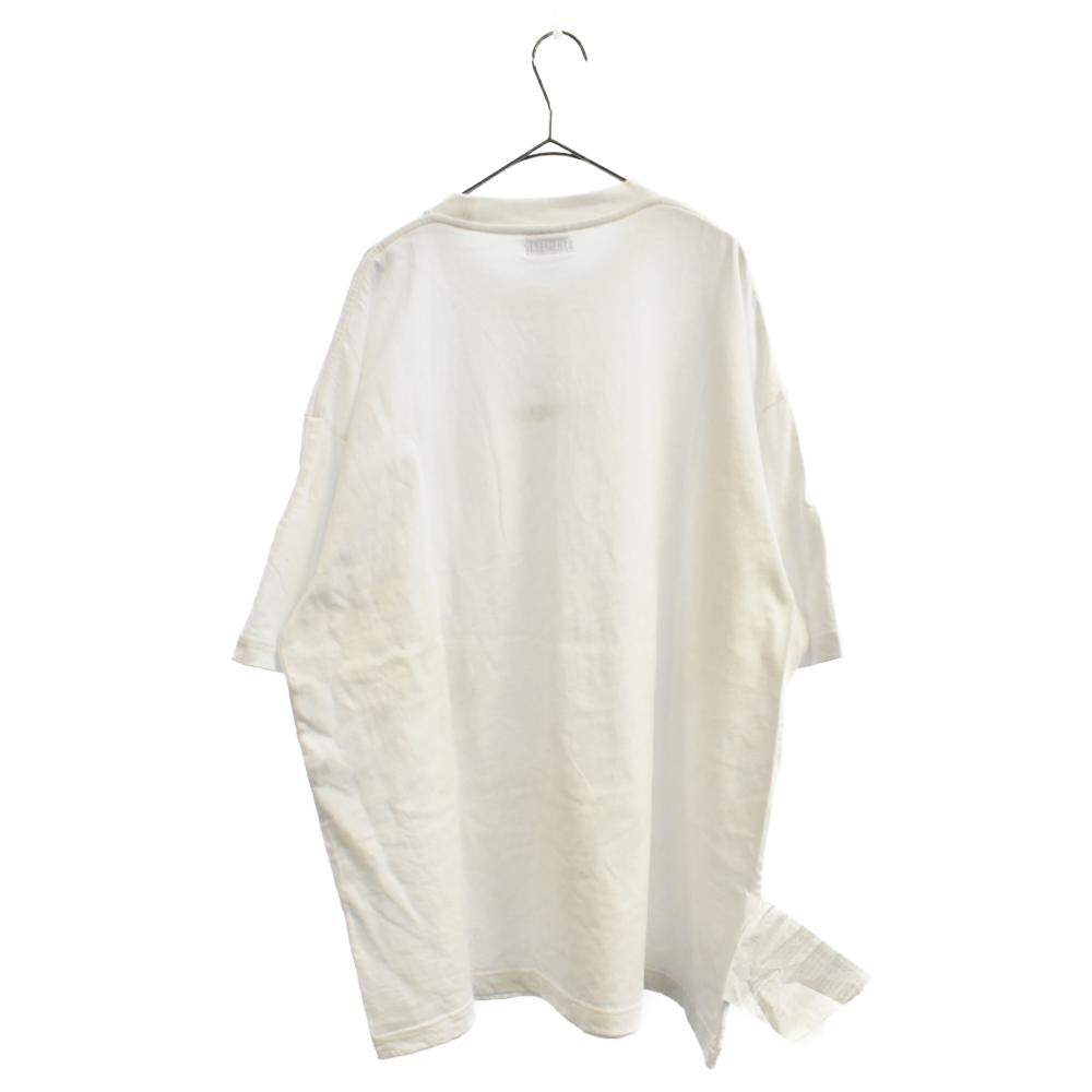 フロントロゴオーバーサイズ半袖Tシャツ