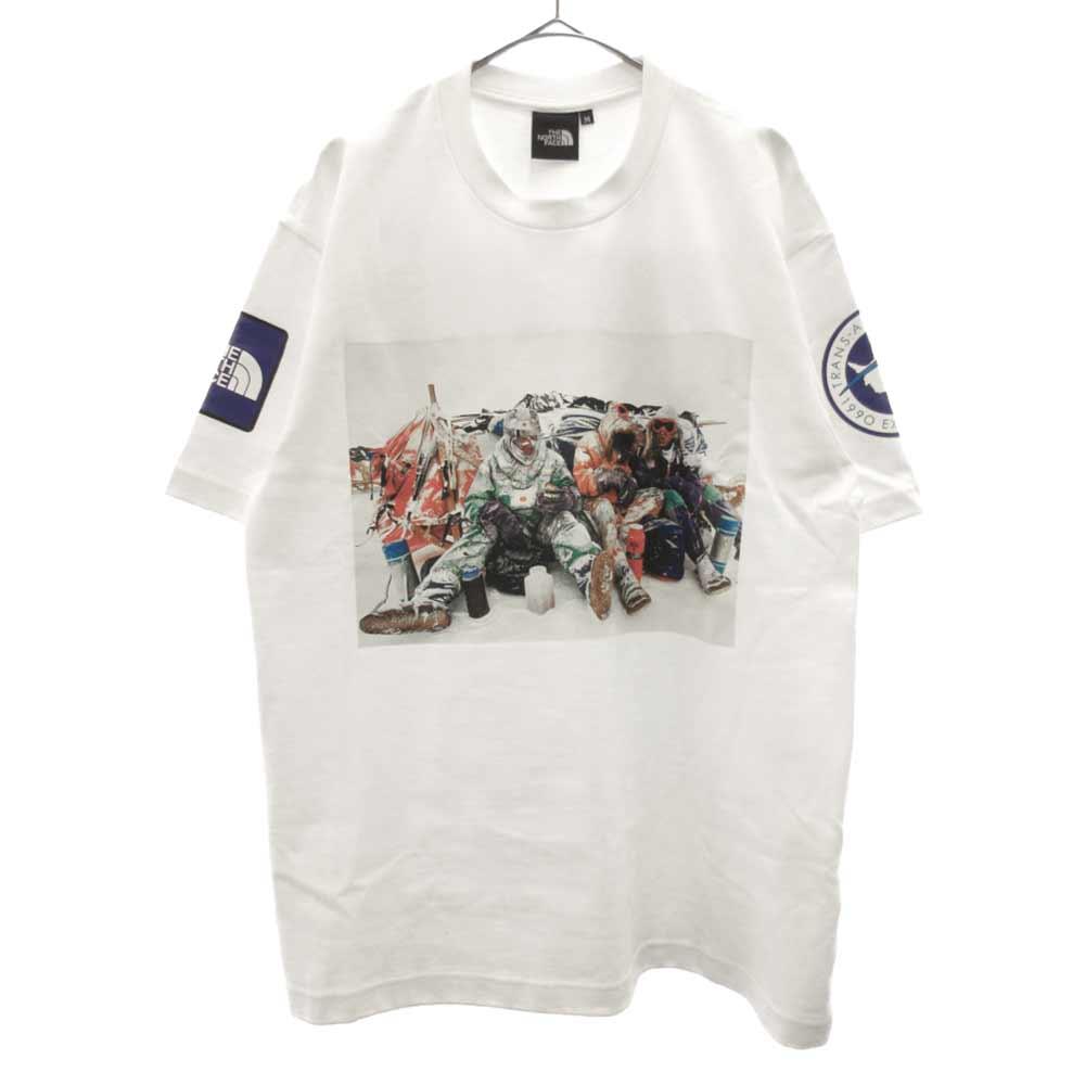 南極観測隊記念モデル Trans Antarctica Tee 国旗 トランスアンタークティカ 半袖Tシャツ