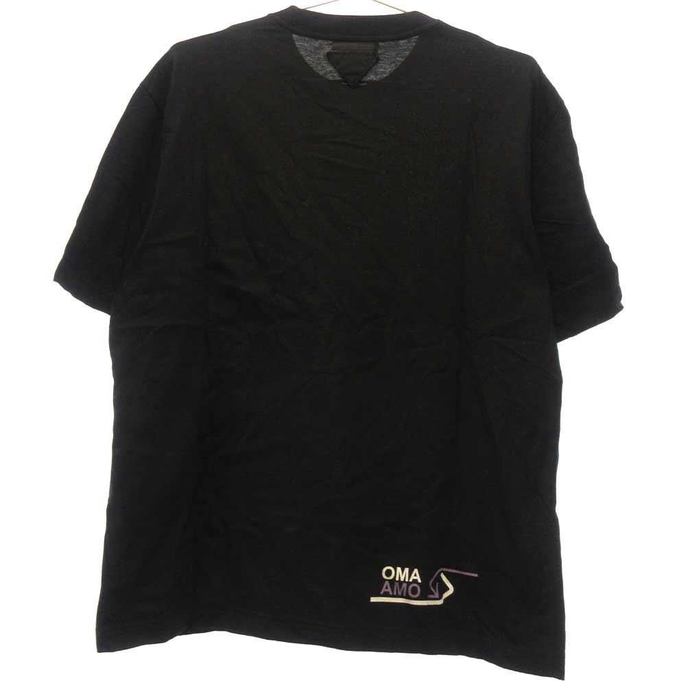 Logo Design Tee ラバーロゴ プリント半袖Tシャツ