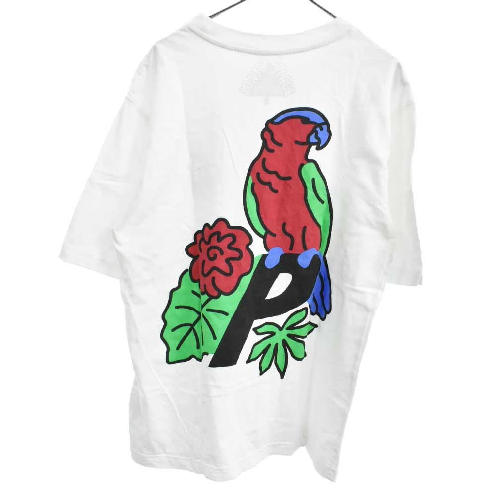 オウムバックプリントロゴ 半袖Tシャツ