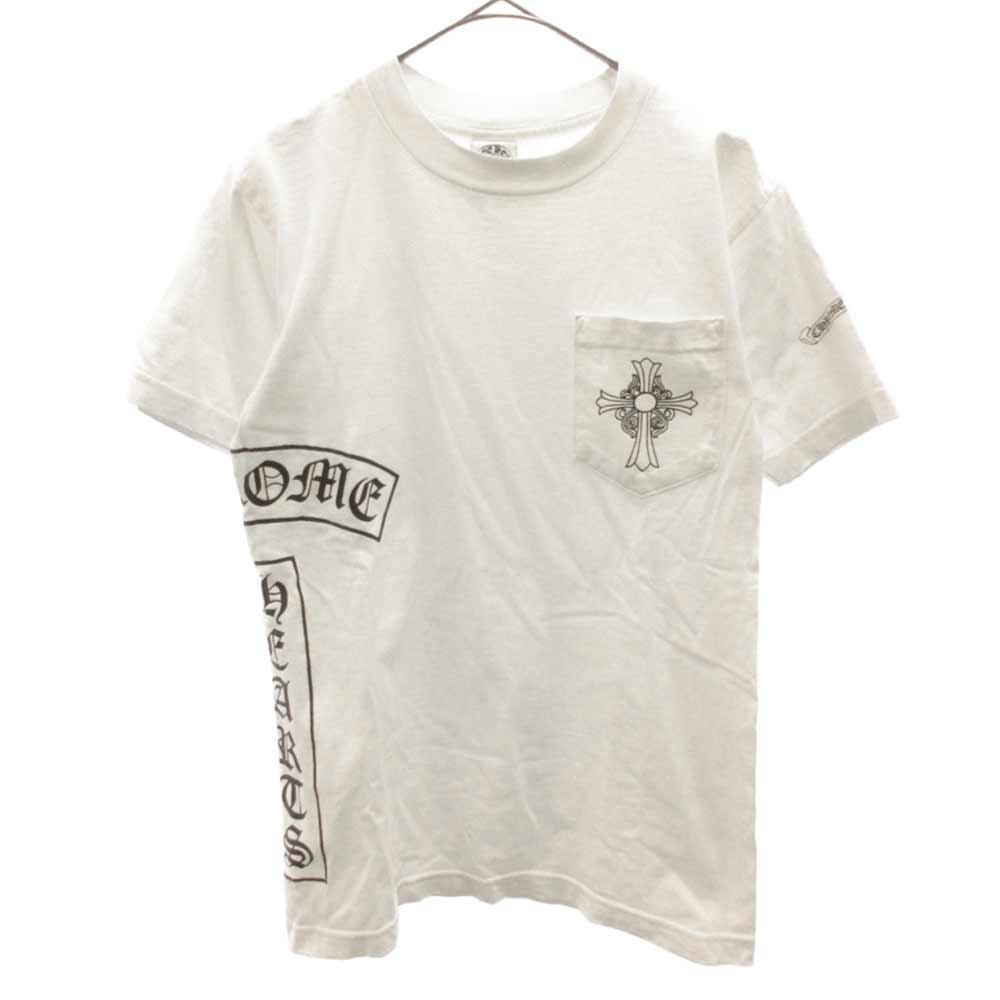 ポケットクロスプリント半袖Tシャツ