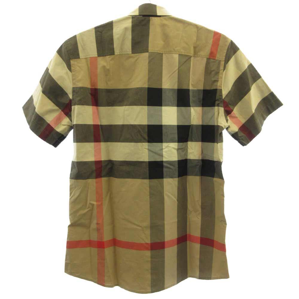 SOMERTON ソメルトンチェック柄半袖シャツ