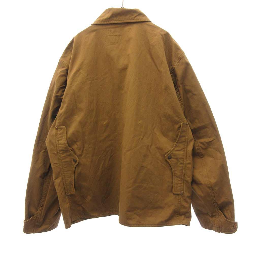 コットンワークジャケット ライトブラウン