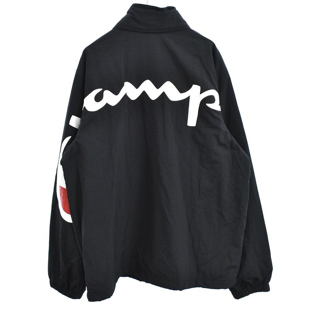 ×Champion Track Jacket ロゴプリントトラックジャケット チャンピオン