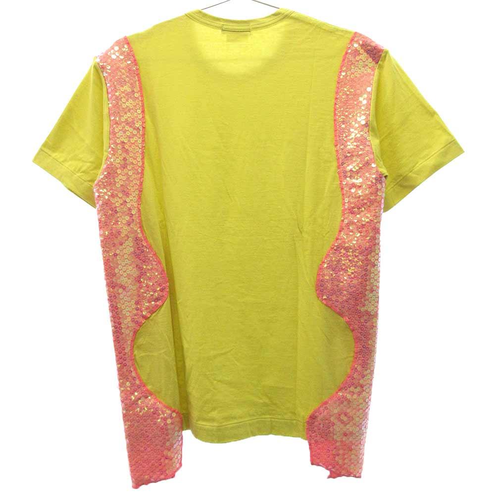 PA-T027 サイドスパンコール半袖Tシャツ AD2017