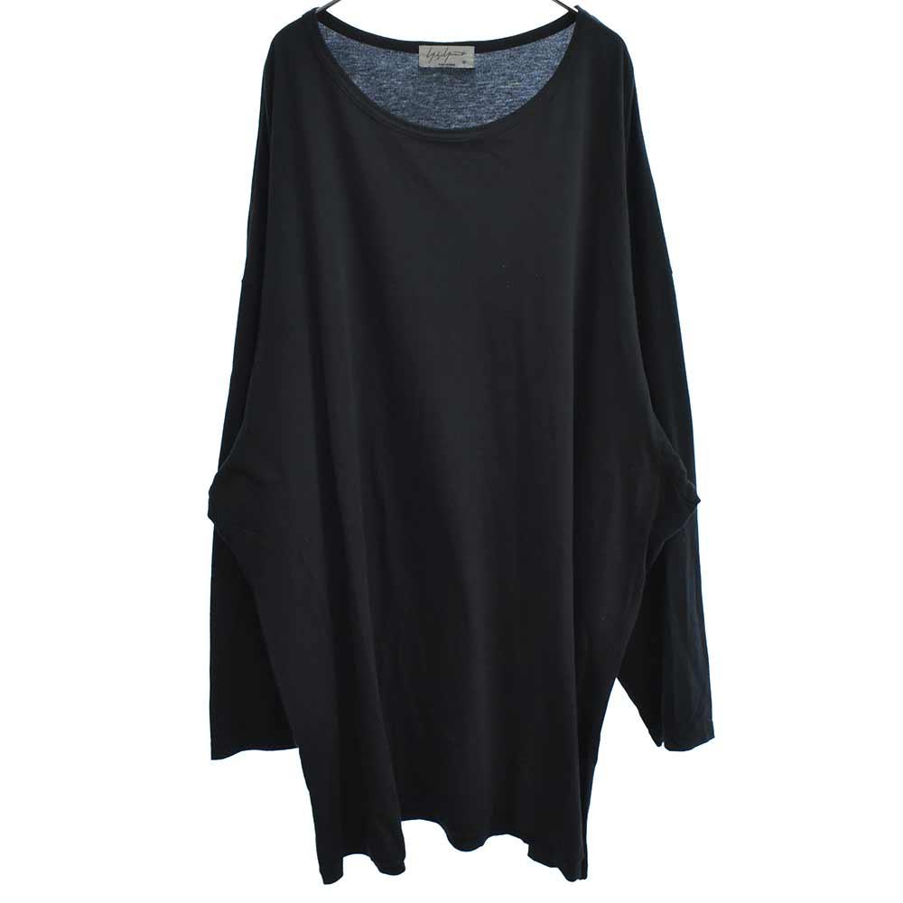LOOK6 バックプリントオーバーサイズ長袖Tシャツ