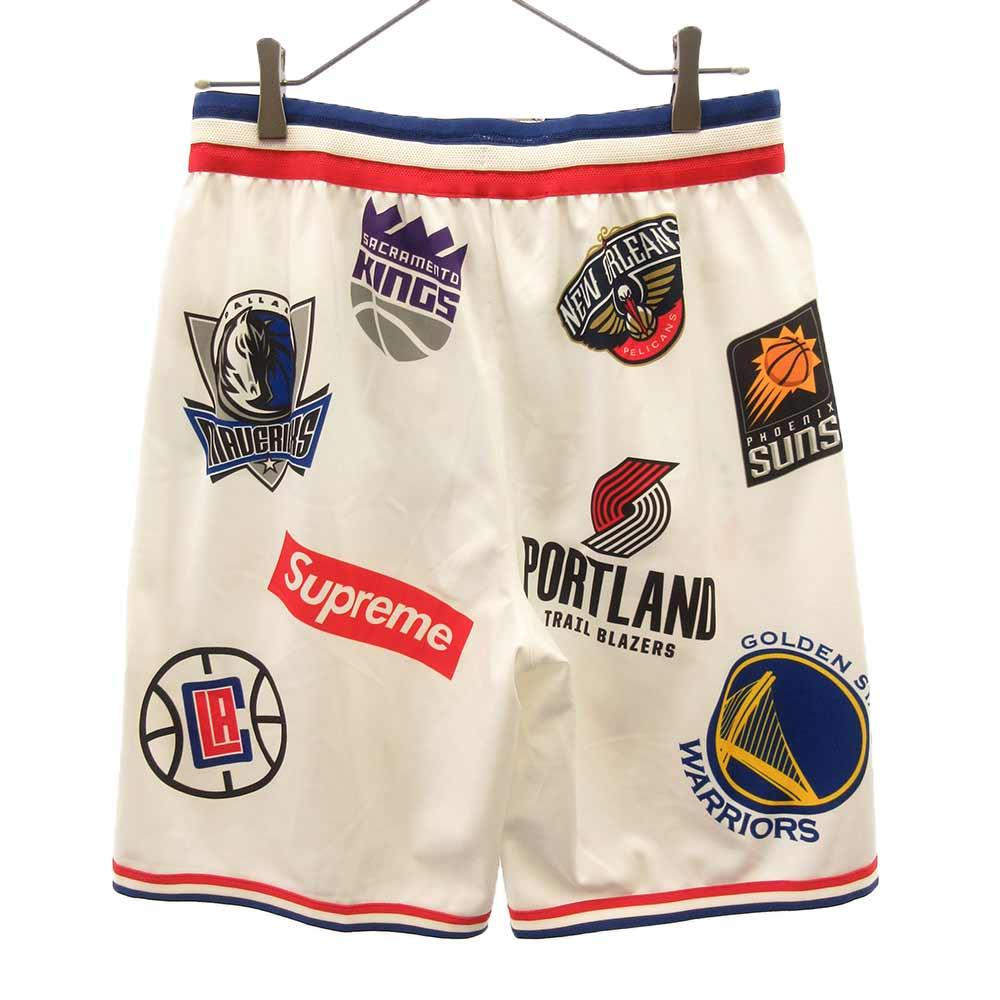 ×NIKE NBA Team Authentic Short NBAメッシュハーフパンツ ショーツ